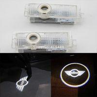 2 PCS Auto CREE LED Door Courtesy Logo Laser Ghost Shadow Light for BMW Mini R55 R56 R57 R58 R59 R60
