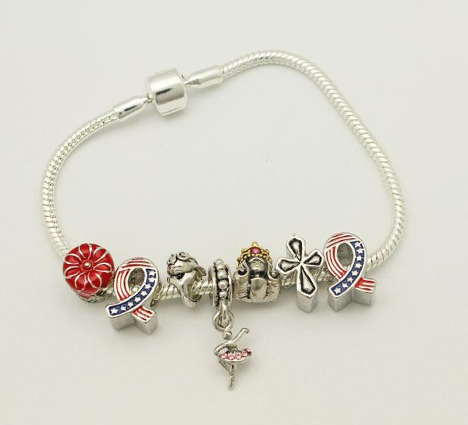 2014 free shipping fashion charm bracelet bracelets