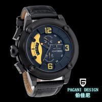 Pagani Design Luxury fashion brand big dial movement men quartz watch calendar time clock waterproof Function