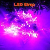 10M 100 LED light belt strap decoration LED string for Christmas tree decoration party wedding Fairy Light 220V Eu plug