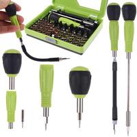 New Multifunction 53 in 1 Combination Precision Screwdriver Torx Tweezers Set FN Laptop Cellphone Repair Tool Kit