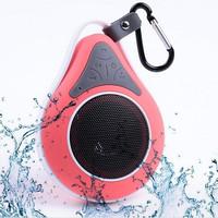 40pcs/lot Portable Waterproof Wireless Bluetooth Speaker Shower Car Handsfree Receive Call & Music Suction Phone Mic