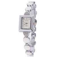 Best Square Watch Brand Fashion 2013 Luxury Watches Wholesale Famous Women Rhinestone Dropship Free Shipping