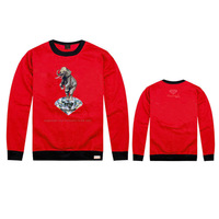 Diamond supply co mens sports hip hop autumn winter GRIZZLY GRIP hoodies print pullover sportswear sweatshirt sweater