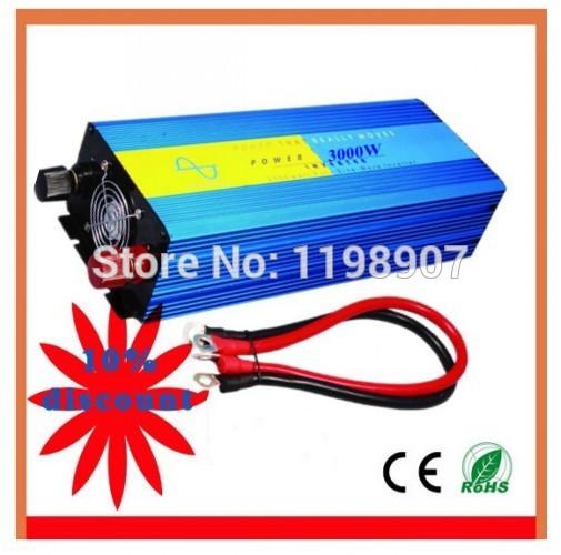 free shipping off grid Solar Power Inverter 12v 220v 1500w(China (Mainland))