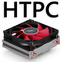 Original CPU Cooler HTPC-200 2 heat pipe+80mm fans support Intel LGA1156/LGA1155/LGA1150/LGA775/FM2+/FM2/FM1/AM3+/AM3/AM2+/AM2