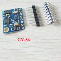 1PCS/LOT Hot sell GY-86 10DOF MS5611 HMC5883L MPU6050 module MWC fly control sensor module Besr prices & Free shiping !!!