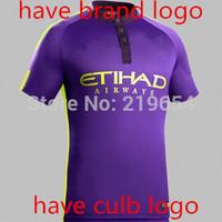 14-15 new season Manchester city 3rd  player version thailand quality NASRI KOMPANY SILVA soccer jerseys free shipping shirts