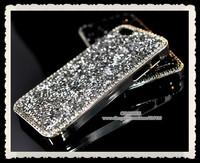 100pcs DHL! for apple iphone 4 4s 5 5s Luxury swarovskis aluminum diamond bling shining crystal case cover