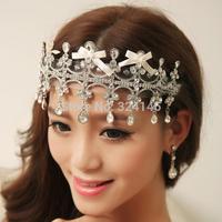 Kate  princess tiaras noble crystal wedding crown wedding dress hair accessories Miss beauty hair crown