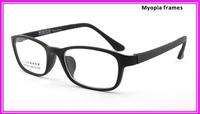 TR90 steel frame myopia myopia frames for men and women plain mirror