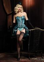 Hot Plus Size Sleepwear Sexy Women Lace Tops Steel Bustier Lingerie Overbust Corset Dresses (S,M,L,XL)2243
