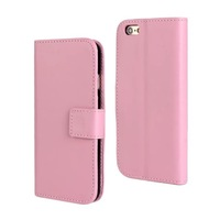 Free Shipping New Shine wallet PU Leather Stand Case with card slot For iPhone 6 6G 4.7 inch