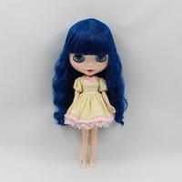 Free Shipping hot sale TB-471  Nude B doll lovely DIY toy birthday gift for girls fashion 4 big eyes dolls beautiful Hair