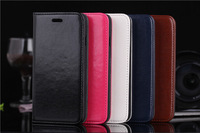 hot sell, 100pcs /lot, for iphone 6 4.7 size leather case with credit card slot and stand , dhl free shipping
