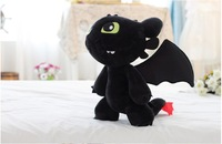 Free shipping 50cm big size How to Train Your Dragon 2 Toothless Night Fury dragon doll plush toy  Christmas gift