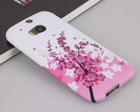 M8 soft case,Fashion Image Prints TPU Soft Case Cover for HTC One 2 M8 Case + Screen Film