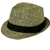 2014 Women'sTrilby Men Cap  Plus Size Sun Hat Hemp Tea Party Christmas Gift fedora hat 2 Sizes