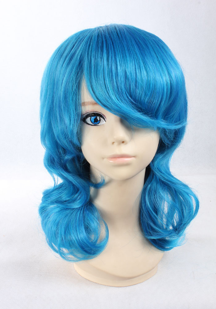 haircut synthetic wigs free shipping curly black hair pixie cut wig ...