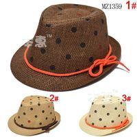 Cute lovey 1 Piece summer Fedoras Hats Children's Baby Cap+age 1-5,  Girl/BOY Kids sunbonnet