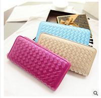 New Arrival Women Wallet Desigual Purse Pu Leather Weaving Handbag Female Wallet Design Brand Carteras Feminina Ladies' Wallets