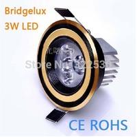 Hot sales Bridgelux 3W Led Spotlights AC85-265V.CE ROHS