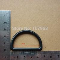 Free Shipping: 400pcs/Lot KAM Brand Black Plastic Adjustable Buckles,D Shape Plastic Buckles, D Button ( M014-38)