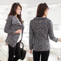 2014 Cardigans Women Wear Woollen Overcoat New Women's Windbreaker Korean Cultivating Small Fragrant Long Sections Of Wool Coat