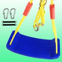 Children's outdoor indoor swing baby swing baby swing bending wealthy thicker bold Caisheng