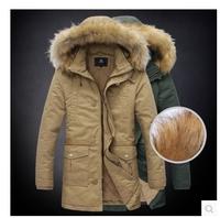 2014 new Arrival men's jacket plus thick velvet jacket men washed fashion design coat YJ1256