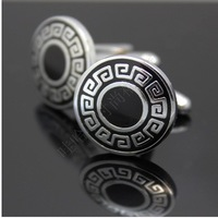 Free shipping! High quality men's shirts cufflinks, vintage cufflinks round, clothing accessories, wholesale