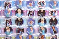 Wholesale - New fashion Cute Frozen Badges comic Pin Button Set Party 100 sheets