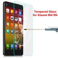 Imak 0.3mm 2.5D 9H Scratch Resistant Explosion Proof Tempered Glass Screen Protector for Xiaomi Mi4 M4