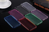 "300x DHL Free for iphone 6 plus case 4.7""& 5.5"" 2 models available inside matt outside gloss thickly design TPU material"