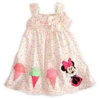 2014 new girls bow sling ice cream cute doll dress Children  Dress Summer Dress