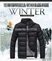 2014 Men Winter Jacket Men's Thick Warm Coat Fashion Clothing Plus Size M-3XL