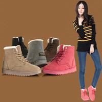 2014 Flat heel women winter shoes new five -color fashion casual cute Korean fashion warm woman snow boots women's boots KL734