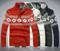 Men's 100%Wool Cotton Mens sweaters Winter Autumn men 2014 New Fashion  Sweater