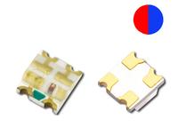 0603 Bi-color Red+Blue,  Chip LED,  SMD LED, See spec below,  1000PCS/lot Free Ship!