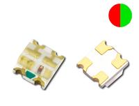 0603 Bi-color Red+Green,  Chip LED,  SMD LED, See spec below,  1000PCS/lot Free Ship!