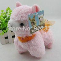 NEW Japan Amuse Arpakasso Alpacasso Alpaca Plush Doll girl pink lovely