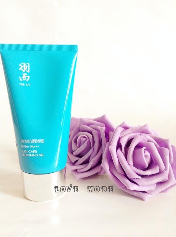 Yue-Sai Face Care SPF30+ PA+++ Refreshing gel Prevent sunburn/Easy to apply/ Not greasy /moisturizing /sunscreen Gel/antioxidant(China (Mainland))