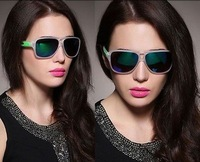 New Hot Men And Women's Sunglasses Sport Riding Mirro  Colorful Glasses MZX-491