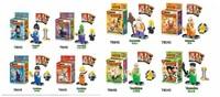 Action Baby Toy LELE78045 Dragon Ball Z Son Goku Vegeta Master Roshi Figures Toys Building Blocks Sets Bricks Classic Toys