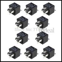 10 Pack 12V SPDT Relays Car Automotive Alarm 30/40 AMP