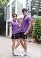 2014 Victor Badminton For Women Men Shirt Short Skirt Table Tennis Clothing Compression Shirt Free Shipping