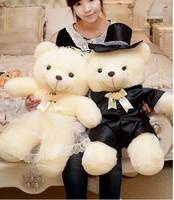 large 80cm loves teddy bear plush toys ,wedding bears ,proposal ,wedding gift t6039