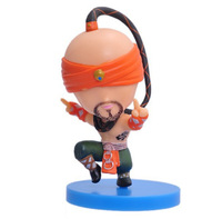 Retail 1PCS S4 LOL Figure DE Marcia Toy Hero Q version Game Doll Gift box package cheaper toys