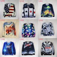 New style Women/Men's 3d sweatshirts space/galaxy hoody women hoodies personality nice print WTH10