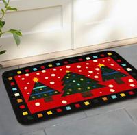 45*75cm mat anti-slip tree mat bedroom living room door rugs children's room cartoon absorbent thickened rugs